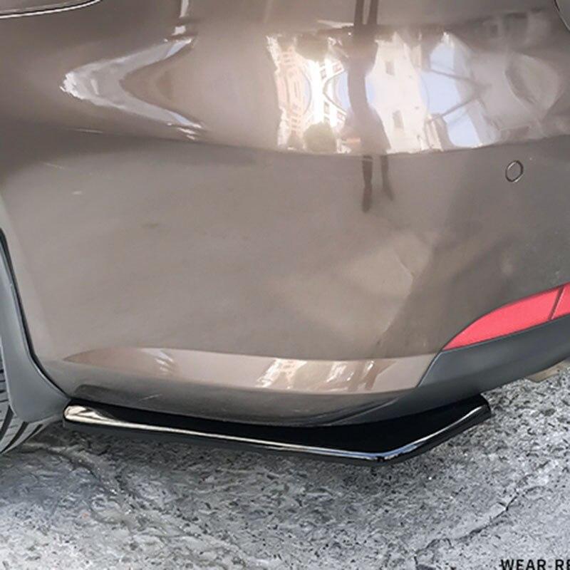 ABS Car Universal rear bumper spoiler diffuser For Mercedes-Benz A B C E S G M ML GLK  CL CLK CLS E GL R SL SLK SLS-class AMG