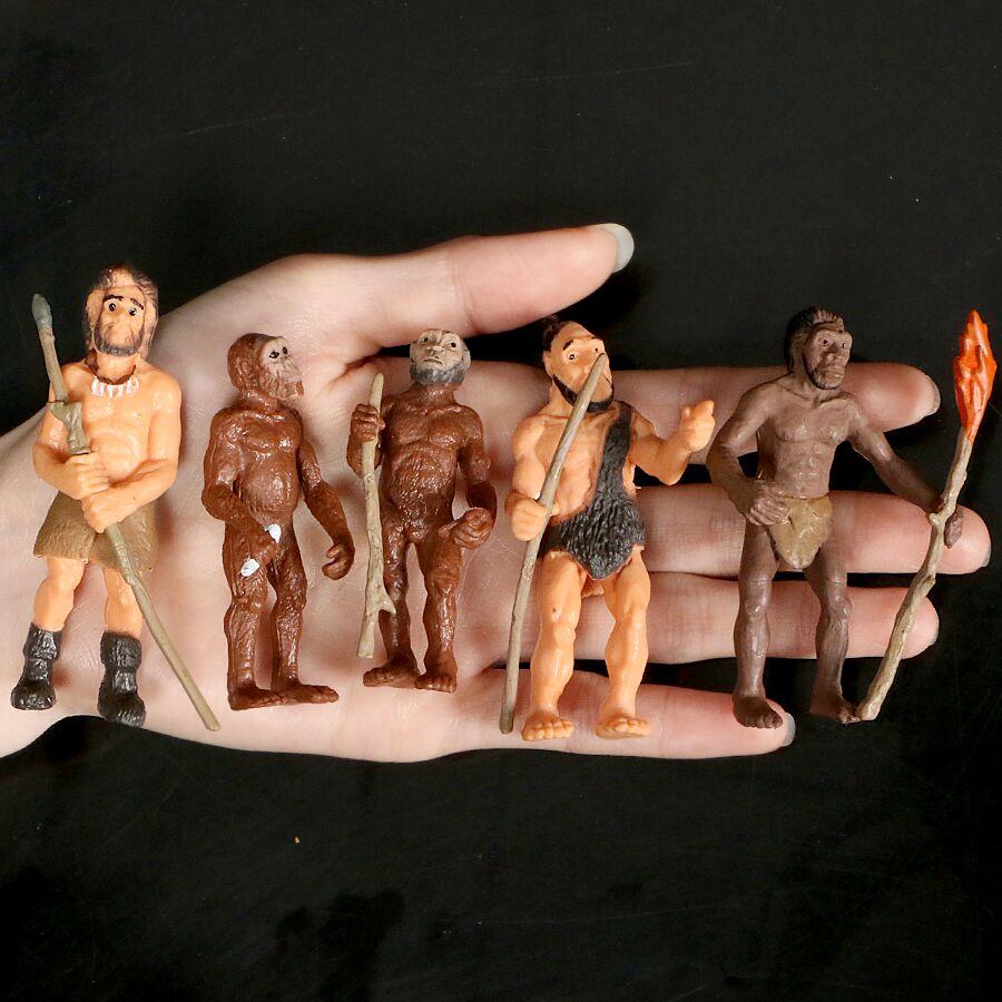 Имитация моделей человеческой эволюции, примитивная фигурка, цикл роста, экшн-фигурка человеческого развития, Обучающие игрушки
