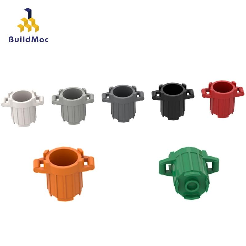 BuildMOC Compatible Assembles Particles 92926 Trash Can Building Blocks Parts DIY LOGO Educational Creatives Gift Toys