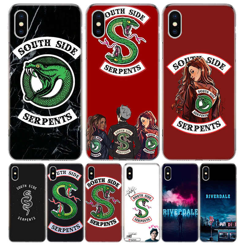 Amerikaanse Tv Riverdale Cover Telefoon Case Voor Iphone 11 Pro 7 6X8 6S Plus Xs Max + xr 5S Se 10 9 Art Tpu Coque Capa Shell