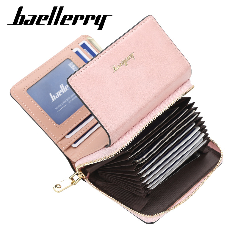 2020 DESIGN Fashion Women Wallets Card Holder PU Leather Female Purse Short High Quality Female Purse Coin Holder Women Wallets