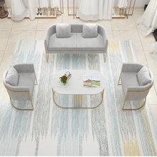 Nordic wedding dress shop sofa beauty salon simple modern clothing shop reception and discussion small sofa net red shop