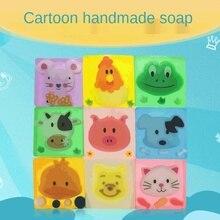 Soap Handmade-Soap Bubble-Oil Hand-Washing Epidemic-Prevention Cartoon-Bear Children