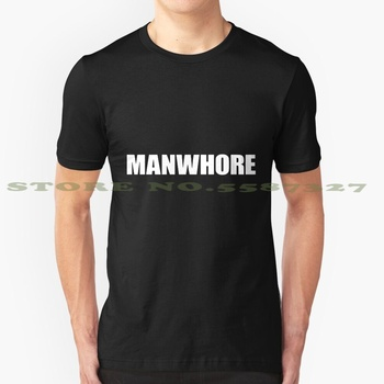 Camiseta blanca y negra de manpuff para hombres, mujeres, hombres, sexi, divertida, posición de trabajo sexual, título de personal, ramera, ramera