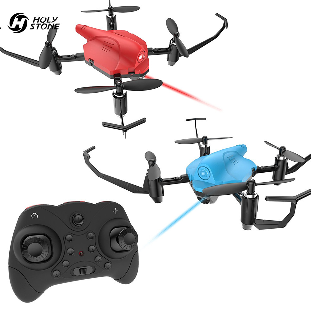 Holy Stone HS177 Drones Battle RC Helicopter Infrared Emission RTF Altitude Hold Headless Mode Quadcopter Emergency Stop 2 Pcs