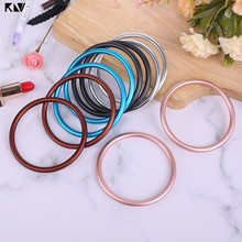 2 Pcs Ring Sling for Baby Carrier Infant Wrap Accessories One Size Aluminum Ring Convert wrap to Sling for Mommy Newborn