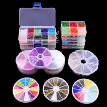 Box Set Glass Seed Beads Czech Charm Crystal Spacer Glass Beads For Jewelry Making Rings DIY Handmade Accessories