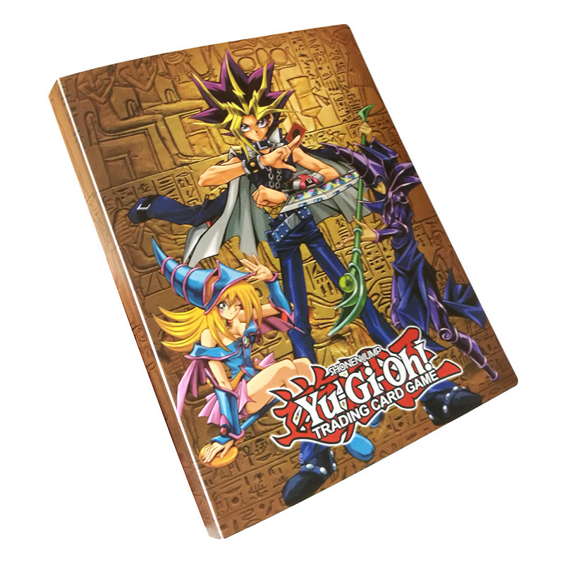 TCG Table Card Game Yu Gi Oh Deck Toys YuGiOh Collection Album Capacity 112 Cards OCG Board Game For Kids Christmas Gifts