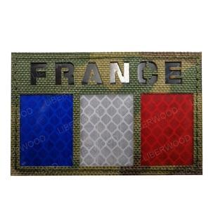 Мультикам Флаг патч США Франция Испания Америка Канада Израиль AU NL Юнион Джек ИК инфракрасный военный боевой дух Светоотражающие нашивки значки