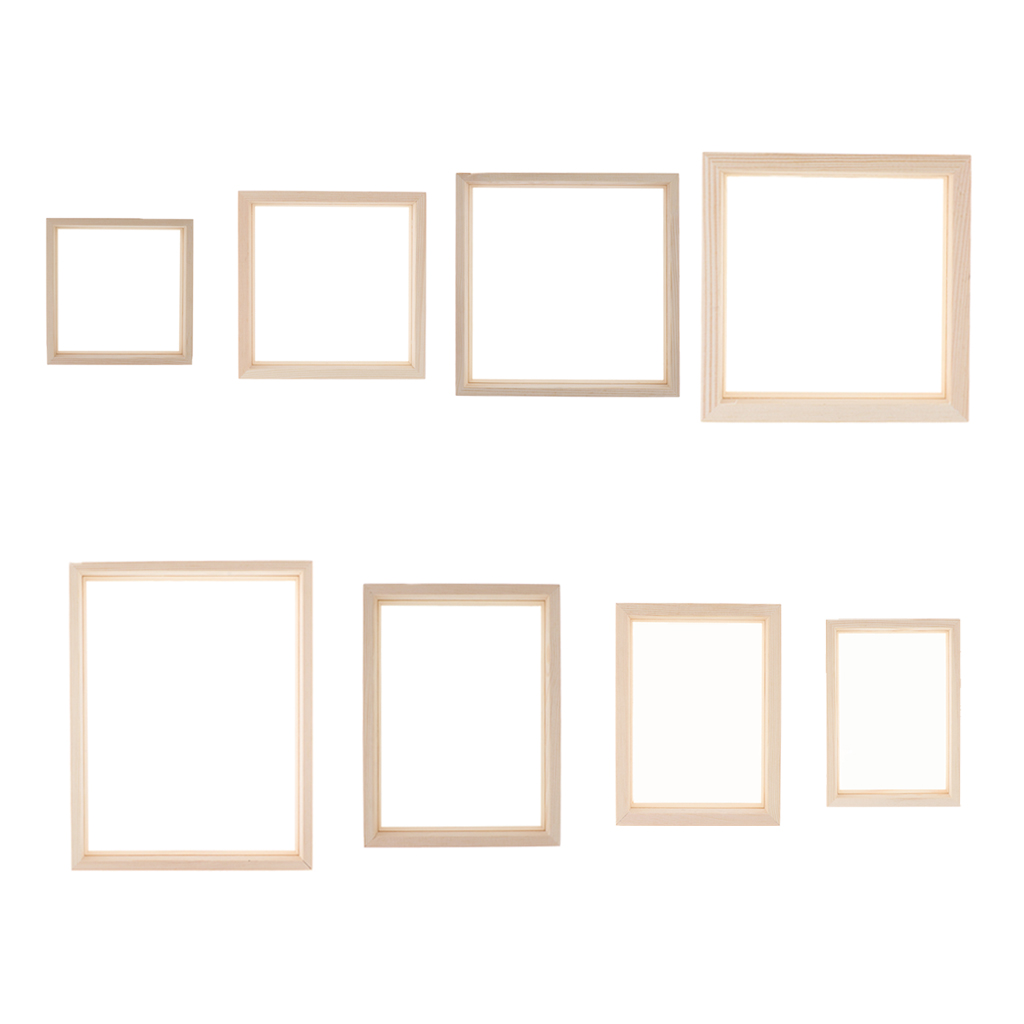 1 Piece Photo Frame Picture Poster Frame Transparent Wooden Home Display Decoration Wall Decors
