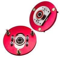 2 pces placa camber ajustável para bmw série 3 e46 318 320 323 325i 328i kit de montagem superior 1998 2005|Amortecedores e suportes| |  -