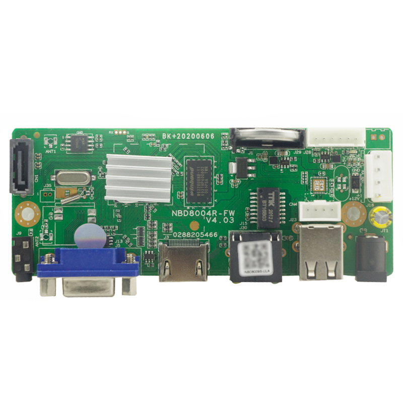 YiiSPO H 265 H 264 NVR Network Vidoe Recorder DVR Board for IP Camera with SATA 9CH 5MP 9CH 2MPLine ONVIF CMS Xmeye P2P