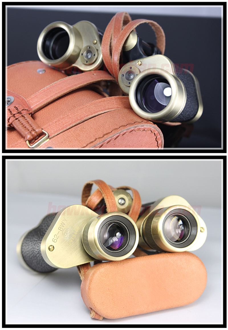 Professional Pure Copper Telescope spotting scope Russian Military Binoculars with Rangefinder Metal Monocular HD Night Vision in Monocular Binoculars from Sports Entertainment