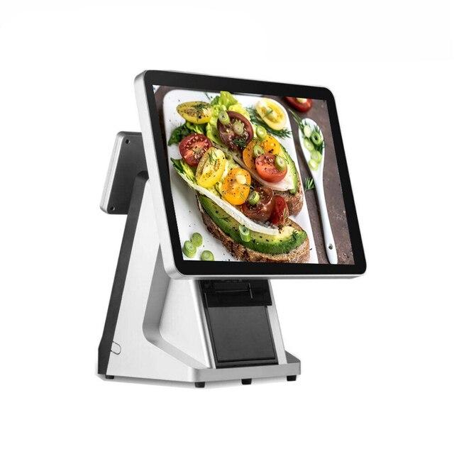 Moniteur de capacité de point de vente à écran tactile de 15 pouces avec affichage du client 1