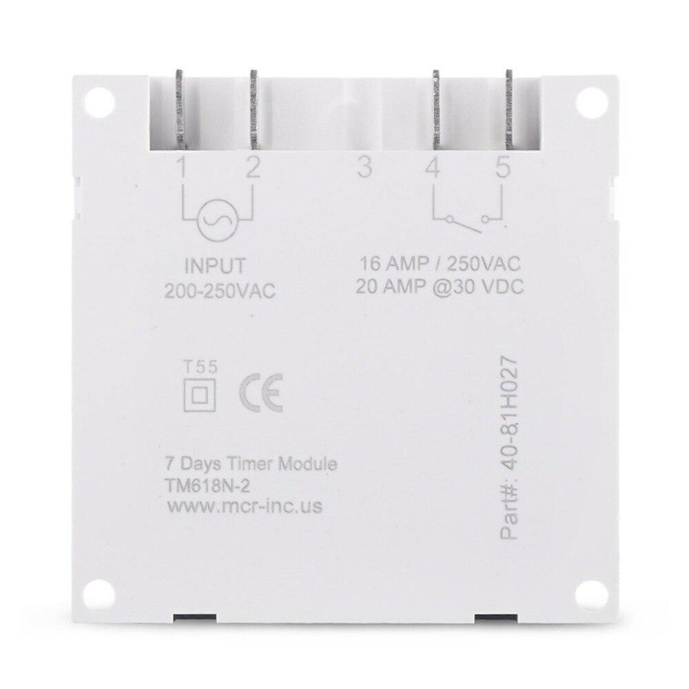 Sinotimer TM618N-2 220v lcd digital ac interruptor