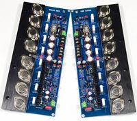 2Pcs Home Theater High Power KSA100 Gold Sealed Tube Amplifier Audio Board 100Wx2 Mini Amp HIFI Stereo Class A Amplifier