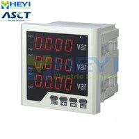 3 단계 디지털 반응 파워 미터 120*120/96*96/72*72/80*80mm 클래스 0.5 LED 패널 미터 RS485 통신