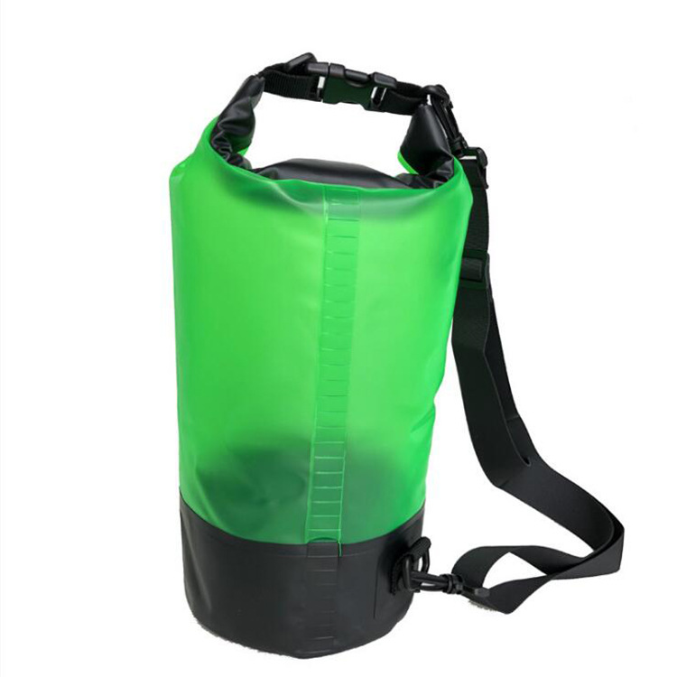 Sports Outdoor Drifting Poster Translucent Waterproof Bucket Bag Customizable New Style Waterproof Desiccant