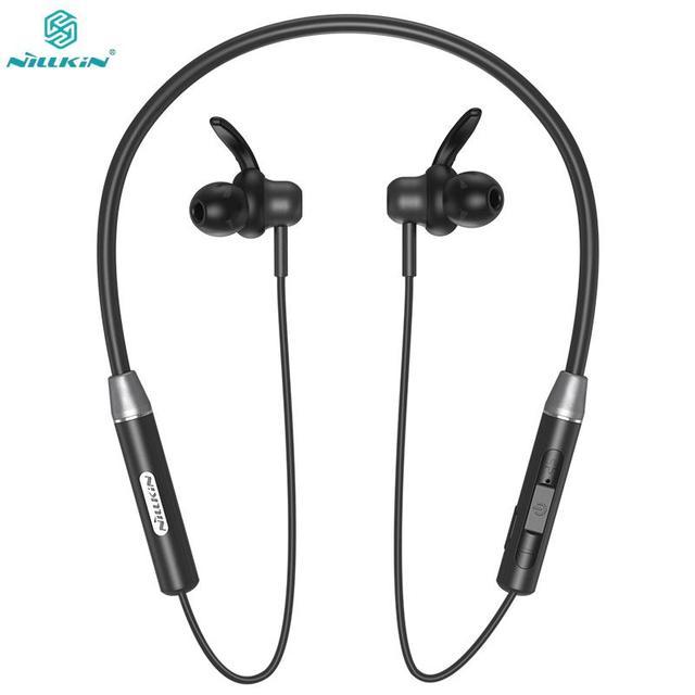 NILLKIN Wireless Magnetic Flexible Neckband Earbud IPX4 waterproof Sport Stereo For iPhone Samsung Xiaomi Bluetooth 5.0 Earphone