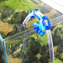 Water Pipe Holder Water Tube Clamp Fixed Clip Fish Tank Hose Holder Fish Aquatic Pet Aquarium Supplies