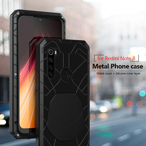 Phone Case for Xiaomi Mi Redmi Note 8 Pro 9 Pro 9s Shockproof Cover Heavy Duty Protection Armor Metal Mobile Phone Accessories