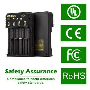 Image 3 - BASEN 18650 Battery Charger for 1.2V 3.7V 3.2V 18650 26650 21700 18350 AA AAA lithium NiMH battery smart charger 5V 2A plug