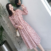 New French Chiffon Dresses for Women in the Spring and Autumn Period of 2019