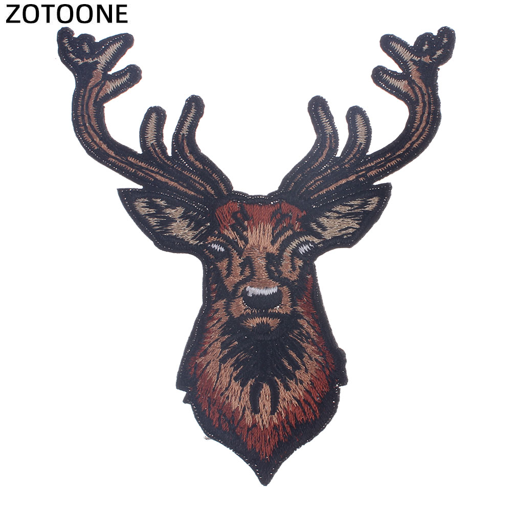 ZOTOONE Animal Cat Patches Fashion Girls Stickers Iron on Clothes Heat Transfer Applique Embroidered Applications Cloth Fabric G in Patches from Home Garden