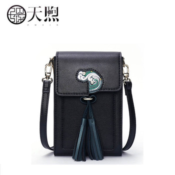 2020 New Pmsix Superior leather women handbags fashion Embossed women bag women leather shoulder crossbody bags