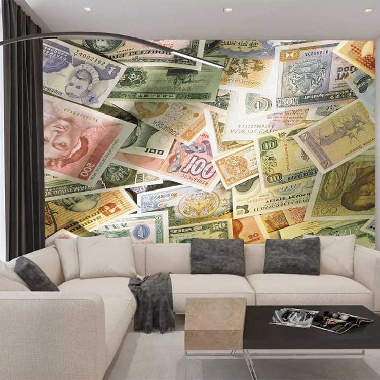 Cafe Background Of Television In The Drawing Room Wallpaper Mural Restaurant World Monetary Cool Restaurant Hotel 3D Wallpaper