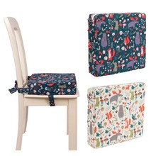 Cushion Dining-Chair Seat Adjustable Children's Pad Heightened Thicken Anti-Drawing Student