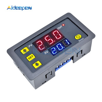 цена на DC 12V 24V AC 110V 220V Digital Cycle Timer Delay Relay Board Module with LED Dual Time Display Timing Relay Switch 0~999