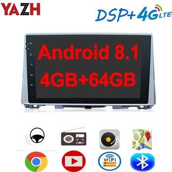 "YAZH Android 8.1 4GB 64GB Car Radio Player For KIA Optima / K5 2016 With 10.1"" IPS GPS display Bluetooth 5.0 SWC OBD 4G SIM Card"