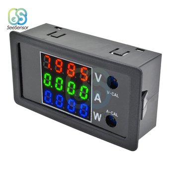 DC 0-100V 10A 1000W 0.28 LCD 4 Digital Voltmeter Ammeter Wattmeter High Precision Voltage Current Power Meter Tester Detector multimeter ammeter voltmeter wattmeter ac 80 260v 0 100a lcd digital display current voltage power energy meter
