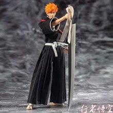 Neue GT Modell Anime Bleach Kurosaki Ichigo PVC action-figur spielzeug Anime Figuren Colletible Modell Puppe Großes Geschenk für Kinder