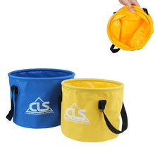 Outdoor Folding fishing bucket quick dry waterproof Portable Folding Bucket Fishing Camping