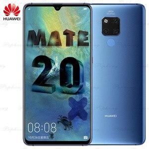 Image 1 - 7.2インチのフルスクリーンhuawei社メイト20 × メイト20X携帯電話andorid 9.0キリン980オクタコア40.0MP nfc IP53急速充電器