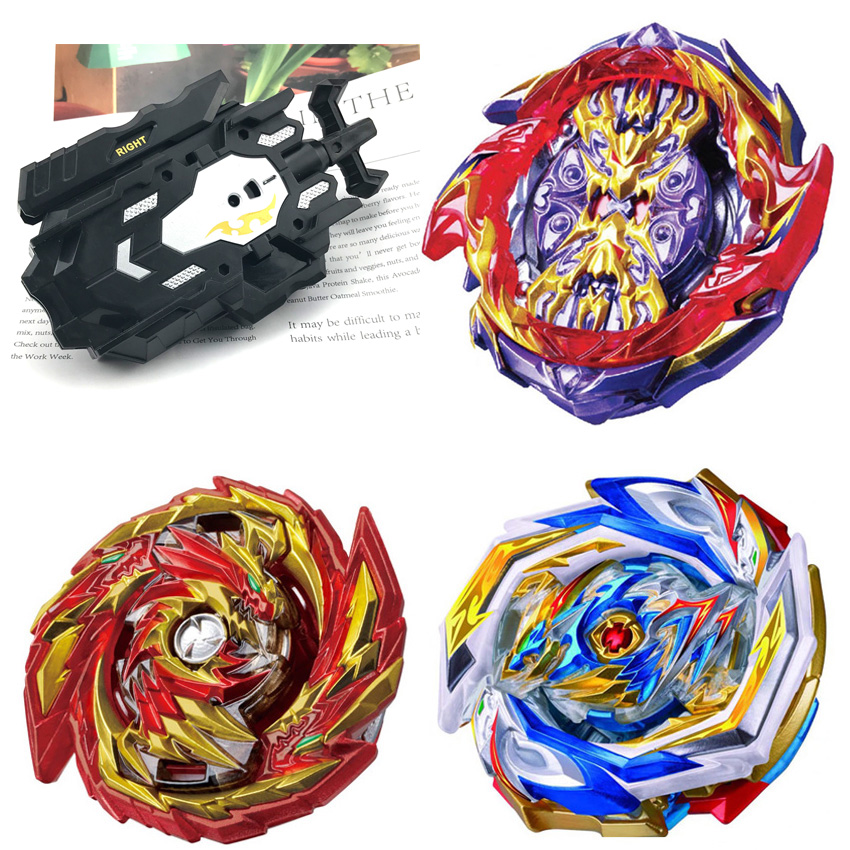 Top Launchers Beyblades GT Burst B-157 B-155 Arena Toys Sale Bey Blade Blade And Bayblades Bable Drain Fafnir Metal Blayblades