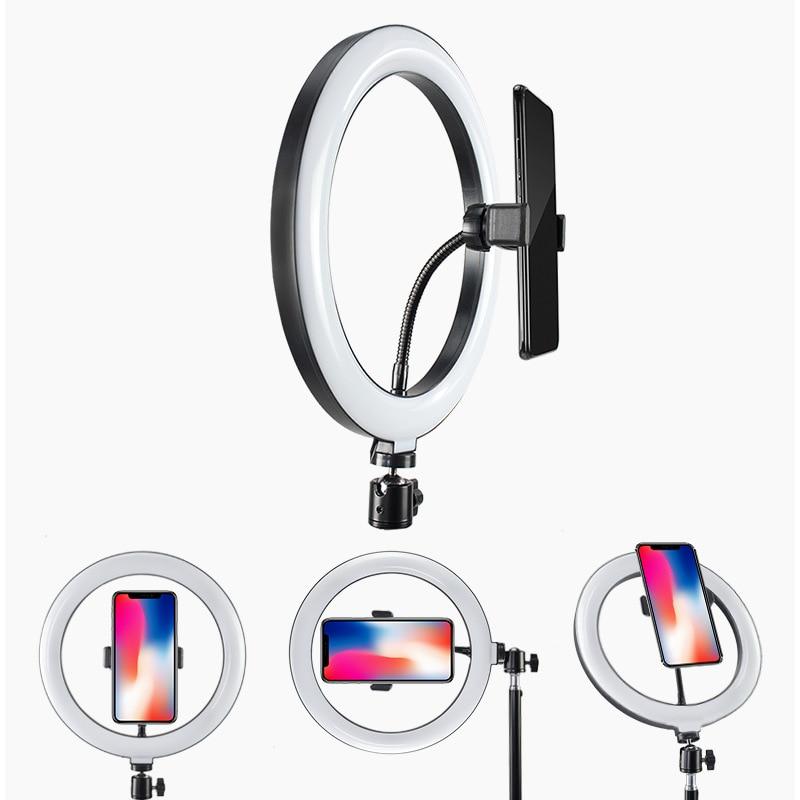 cheapest USB Charge LED Selfie Ring Light for Iphone Supplementary Lighting Selfie Enhancing Fill Light For Phones