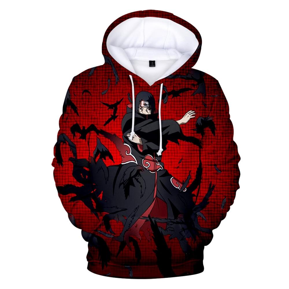 2019 New Naruto Fans Favorite 3D Hoodies Men/Women Autumn Winter Fashion Popular Harajuku Style Sweatshirts Naruto 3D Hoodies