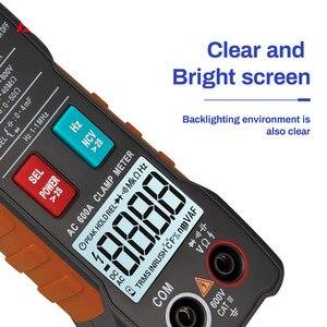 Image 2 - 4000 zählt Voll Intelligent Automatische Range Digital Strom Multimeter AC/DC Zangen Voltmeter Amperemeter Elektrische Instrumente