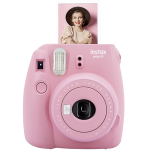 Image 2 - Rose Rosa Fujifilm Instax Mini 9 Instant Film Kamera + 20 Blätter Mini 8 Weiß Filme Fotos + Tasche Fall + Album + Filter + Rahmen