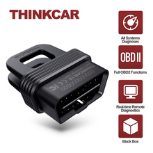 Thinkcar 1s obd2 scanner leitor de código do carro completo sistema de diagnóstico ferramenta completa obdii funções automotivo dtcs pesquisa relatório impressão