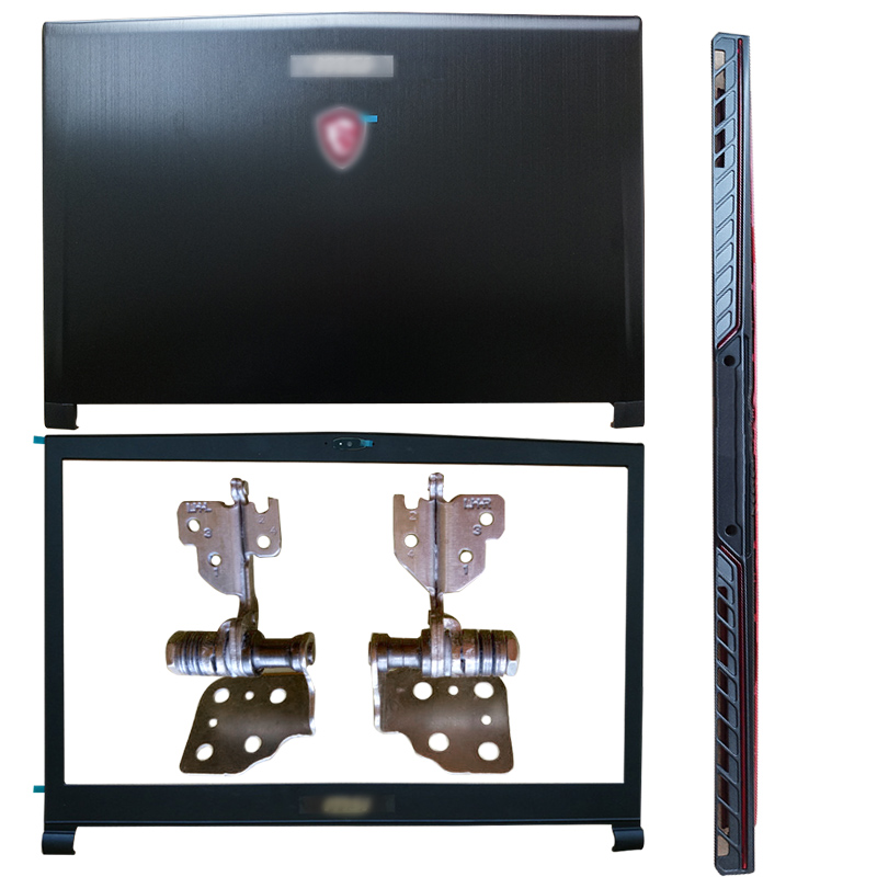 Original NEW For MSI GS73 GS73VR MS-17B1 MS-17B3 Laptop LCD Back Cover/Front Bezel/LCD Hinges/Hinges Cover/Palmrest/Bottom Case