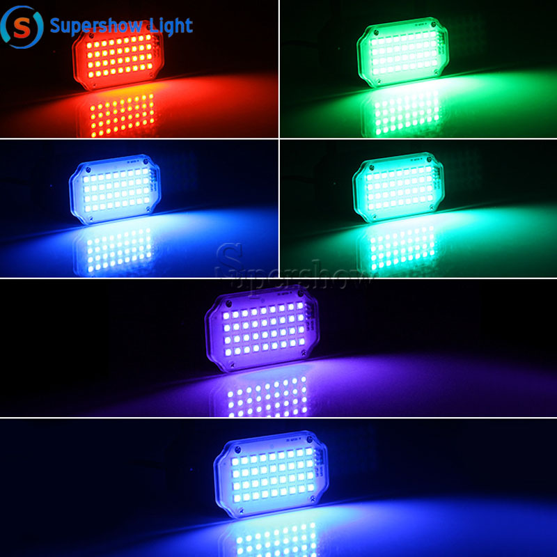 H185729f4a1254abc9bc0f5622b99c55bv - 36 Led DJ Disco Strobe Light LED Flash Voice Music Stroboscope Stage Lighting Effect Party Show