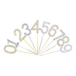 Необычные цвета: золотистый, серебристый/Золотой топперы для торта воздушные шары гирлянда топперы на торт ко дню рождения украшения для вз...