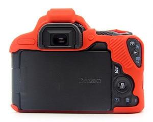 Image 5 - Silicone Armor Skin Case Body Cover Protector for Canon EOS 200D Mark II 250D Rebel SL2 SL3 DSLR Camera