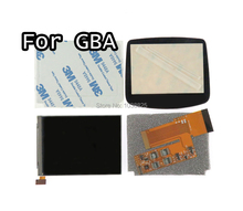 LCD V2 מסך החלפת ערכות עבור Nintend GBA תאורה אחורית lcd מסך 10 רמות בהירות גבוהה IPS LCD V2 מסך עבור GBA קונסולה