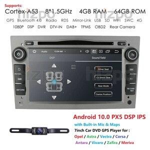 Image 1 - Hizpo 4G RAM Octa 8 Core Android 10.0 2 DIN Car DVD Player For Opel Astra H Vectra Corsa Zafira B C G car WIFI SWC OBD2 DVR