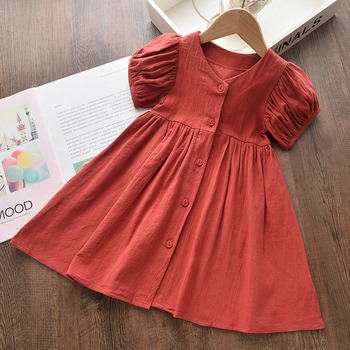 w l monsoon brand children s clothing girls dress europe and america floral children pleated princess dress cotton girl dress Bear Leader Kids Girls Dress New Brand Summer Girl Party Dress Cute Floral Dress Kids Dress Elegant Children Clothing Vestidos